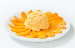 Fruit ice cream Royalty Free Stock Photos