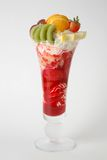 Fruit icecream dessert Royalty Free Stock Images