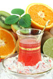 Fruit iced tea Stock Images