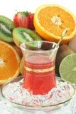 Fruit iced tea Stock Photos
