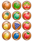 Fruit icon Royalty Free Stock Image