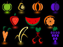 Fruit icon Stock Photo