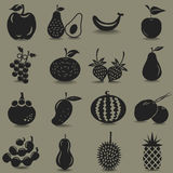 Fruit Icon Royalty Free Stock Photo