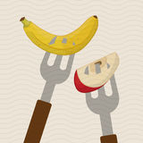 Fruit icon design Royalty Free Stock Photography