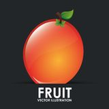 Fruit icon Royalty Free Stock Images