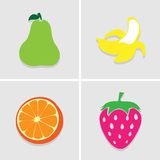 Fruit icon great for any use. Vector EPS10. Royalty Free Stock Photography