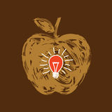 fruit idea - illustration Royalty Free Stock Photography
