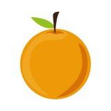 fruit ikony pomarańcze Obraz Stock