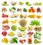 Fruit isolated on white background. Fresh fruit isolated on white background Stock Photos