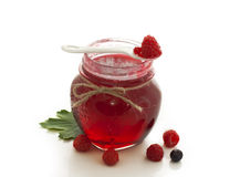 Fruit jam Stock Images