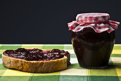 Fruit Jam Stock Photography