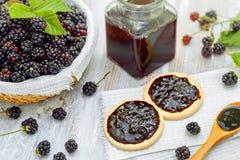 Fruit jam Stock Photo