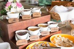 Fruit jam for breakfast Royalty Free Stock Photo
