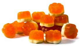 Fruit jellies Royalty Free Stock Image