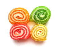 Fruit jellies Royalty Free Stock Photos
