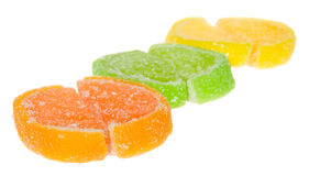 Fruit jellies Royalty Free Stock Images