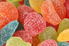 Fruit jellies background Royalty Free Stock Photos