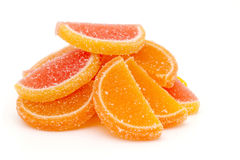Fruit jellies Royalty Free Stock Photo