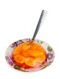 Fruit jelly stock photo