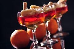 Fruit jelly Stock Photography