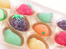 Fruit jelly Royalty Free Stock Image