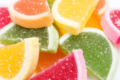 Fruit Jelly Background Stock Photography