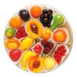 Fruit jelly in box Stock Photo