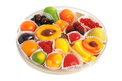 Fruit jelly in box Stock Photography