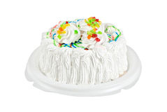 Fruit jelly cake Royalty Free Stock Photos
