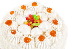Fruit jelly cake Stock Image