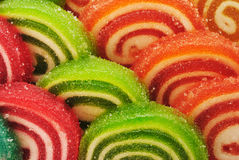Fruit Jelly Candies Royalty Free Stock Images