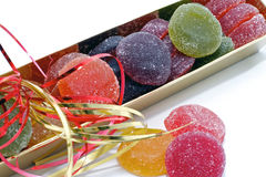 Fruit jelly candies Stock Photo