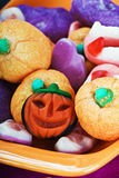 Fruit jelly candies for the holiday halloween Royalty Free Stock Photo