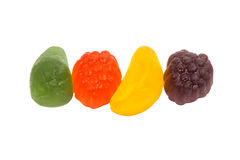 Fruit jelly candies Royalty Free Stock Photography