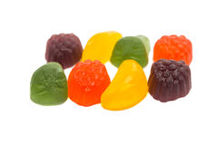 Fruit jelly candies Stock Images
