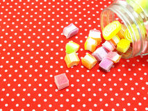 Fruit jelly candy Stock Photo