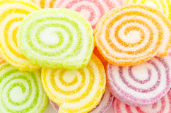 Fruit jelly candy Stock Photography