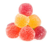 Fruit jelly colored balls Stock Image