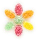 Fruit-jelly flower Royalty Free Stock Image