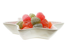 Fruit Jelly Lollies Royalty Free Stock Photos