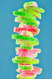 Fruit Jelly Watermelon Candies Royalty Free Stock Photos