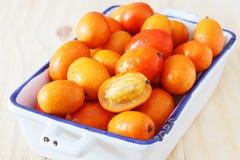 Fruit Jocote (Red Mombin, Purple Mombin, Hog Plum, Ciruela Huesi Stock Photos
