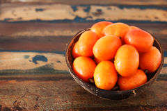 Fruit Jocote ( Siriguela, Red, Purple Mombin, Hog Plum, Ciruela Royalty Free Stock Photos