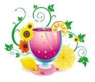 Fruit juice. The colorful fruit juice background Stock Photo