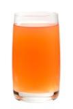 Fruit juice. A glass of fruit juice isolated on white Stock Photo