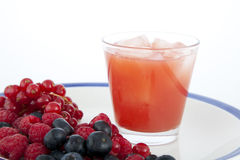 Fruit and Juice Stock Photo