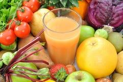 Fruit juice Stock Photos
