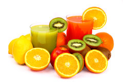 Fruit juice royalty free stock image