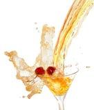 Fruit juice with berry Stock Photos