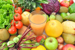 Fruit and juice beverage Royalty Free Stock Images